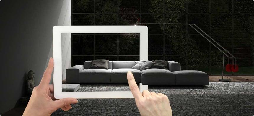 Möbel zu Hause angucken über Augmented Reality