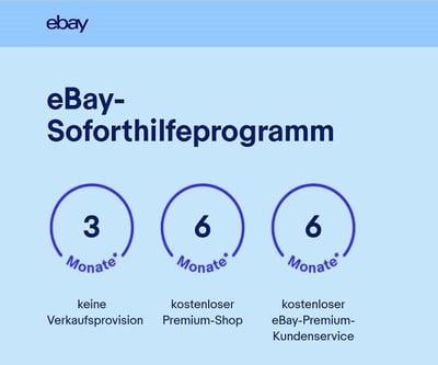 eBay Soforthilfepgrogramm