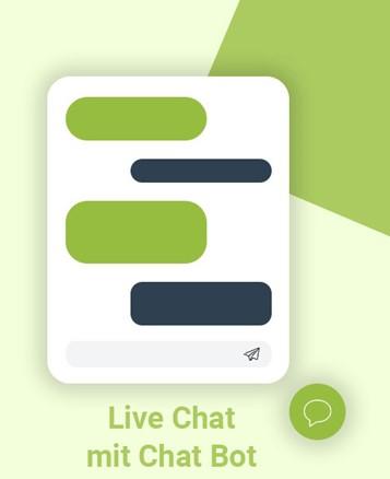 Live Chat mit Chat Bot